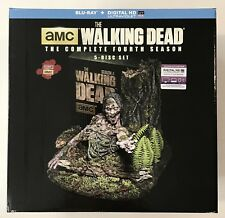 The Walking Dead:Season 4 - Limited Collector's Edition Blu-Ray Brand New