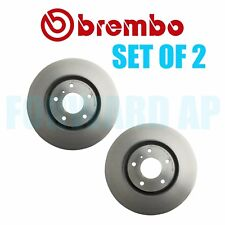 NEW Set of 2 Front Brembo Vented Disc Brake Rotors Fits Infiniti G35 M45 Nissan