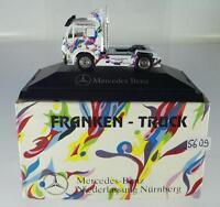 Herpa 1/87 PC Mercedes Benz Zugmaschine MB Nürnberg Franken Truck OVP #5609