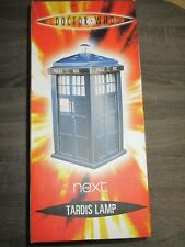 Doctor Who TARDIS LAMP - BRAND NEW FROM NEXT - 35 CM TALL  NEVER USED