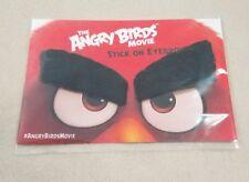 The ANGRY BIRDS Movie Stick-On Eyebrows Nee Authentic Memorabilia