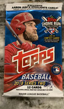 (1) 2018 Topps Series 2 12-card Retail Gravity Pack (Ohtani Acuna Bat Down?)