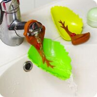 Plastic Random Color Leaf Design Baby Faucet Extender Cute Shape Hand Washing