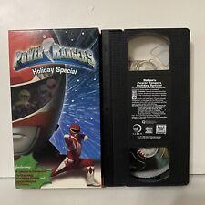 Saban's Power Rangers Holiday Special VHS Rare 1996 Fox Kids