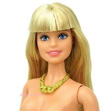 The Barbie LOOK Blonde Urban Jungle Articulate Model Muse Doll Nude New