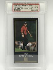 1998 Champions Of Golf The Masters Collection Tiger Woods PSA 8 NM-MT 🔥GOAT!