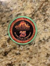 "Wildfire Las Vegas ""Slots Only"" Casino NCV No Cash Value $25 Tournament Chip"