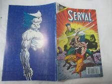 Version intégrale Serval Wolverine Numéro 16 de 1992 /Semic
