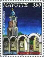 Timbre Religion Mosquée Mayotte 57 ** année 1998 lot 14290