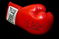 """* Nouveau * James """"Buster"""" Douglas main signé Red Everlast Boxing Glove"""