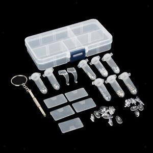 Glasses Repair Kits Eyeglass Screw Nut Eyewear Repair Parts Accessories
