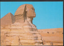 Egypt Postcard - Giza - The Great Sphinx and Keops Pyramid  B3037