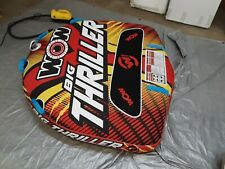 New listing Wow Big Thriller 2-Person Towable Tube, 1-2 Rider, 818