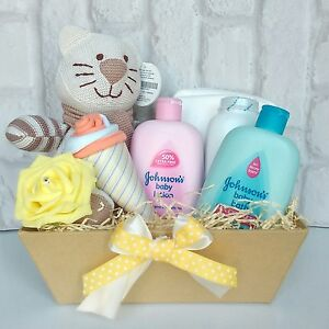 New Baby hamper gift basket baby shower gift unisex