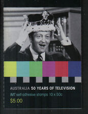 Australia 2006 Television 50th Anniv sa bklt-Attractive Topical (2577a) Mnh