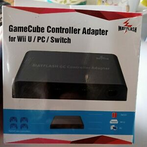 Mayflash 4-Port Controller Adapter for Nintendo GameCube to Switch & Wii U & PC