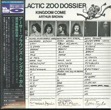Arthur BROWN'S Kingdom Come-Galactic Zoo Japan Mini LP Blu-Spec CD G88