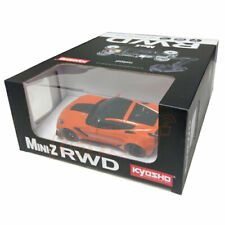 Kyosho Mini-Z RWD Chevrolet Corvette ZR1 Orange LED Light RTR Car Kit #32334OR