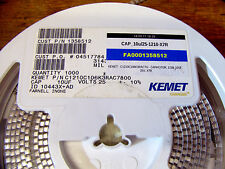 SALE: 10x Genuine KEMET 10uF 25V X7R MLCC SMD 1210 ceramic capacitor, EU seller
