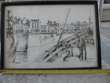 Vintage signed print, twice by Anne Thomas