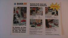 Slot H0 FALLER AMS BAUER Modellautobahnen Prospekt 94/95 f. TYCO, TOMY, AW  NEU