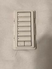 Lutron Homeworks 6 Button Keypad Face Plate Light Almond