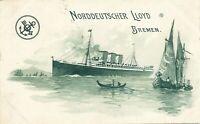 Norddeutscher Lloyd Bremen - udb (pre 1908)
