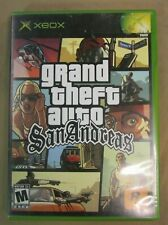 Grand Theft Auto San Andreas Xbox GTA W/ Manual - Tested FREE SHIPPING!!