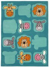 Wissenbach Kinderteppich Teppich Lifestyle Kids 2097 - 100x160 cm türkis