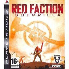 RED FACTION GUERRILLA PS3 SONY PLAYSTATION 3 NUOVO ITALIANO