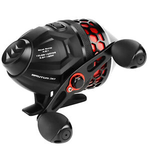 New Arrivial! KastKing Brutus Spincast Fishing Reel with 10 LB Monofilament Line