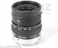 PENTAX TV LENS  12MM 1:1.2