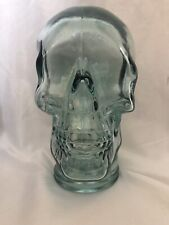 Glass Skull Recycled Glass By Vidrios San Miguel Human Size Decor Skull