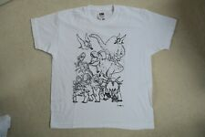 White Dinosaur T-Shirt Age 5-6 years
