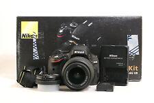 Nikon D5100 Digital SLR Camera Kit w/ 18-55mm 3.5-5.6 VR Lens Kit; BL 410436