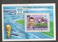 Central African Republic. World Cup Argentina1978. Souvenir Shett. MNH