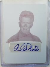 Alan Thicke Magenta Printing Plate Auto Card #1/1 - 2017 Leaf Pop Century Clear