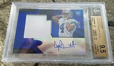 2016 Certified Dak Prescott MIRROR BLUE PATCH AUTO RC /50 BGS 9.5/10 GEM MINT