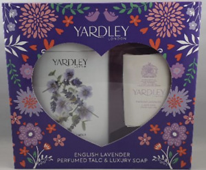 Yardley Lavender Talc and Soap Gift Set London English