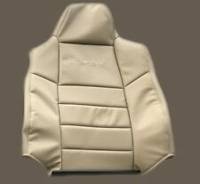 2002 2003 2004 Ford Excursion Limited Driver Top Lean Back Seat Cover Tan-Vinyl