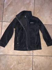 Kid's Gray Grey Columbia Fleece Jacket- size S