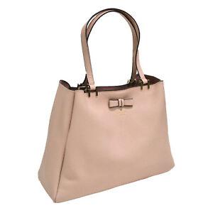 Kate Spade New York Purse Pershing Street Nell Shoulder Bag Warm Vellum Pink Nwt