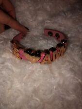"""BCBG """"TE AMO"""" Love Bracelet Bronze Letters BCBGeneration."""
