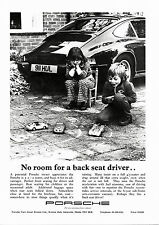 Classic Porsche 911 Advertising Print (A4)