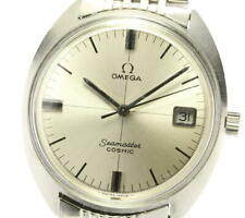 OMEGA Seamaster Cosmic Date Silver Dial Hand Winding Men's Watch_565166