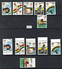 Philippines STAMP LOT, MINT MNH, Scott #1955-60, 1988 Olympics, Perforated & Not
