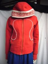 Lululemon Cheer Gear Special Edition Remix Red Hoodie Canada Size 6