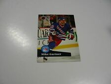 Mike Gartner 1991 NHL Pro Set (French) card #167