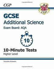 Books, Cgp, GCSE Additional Science AQA 10-Minute Tests (including Answers) - Hi