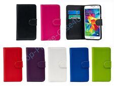 Funda de identificación Premium Cartera de Cuero para todos los teléfonos Samsung Galaxy + Gratis/G S